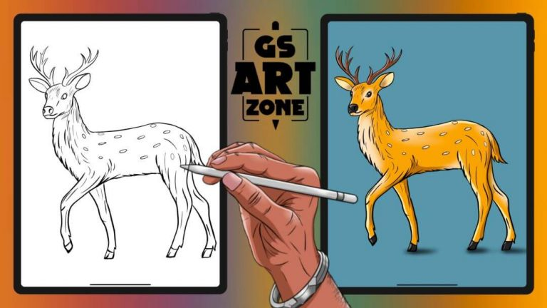 How to Draw a Deer